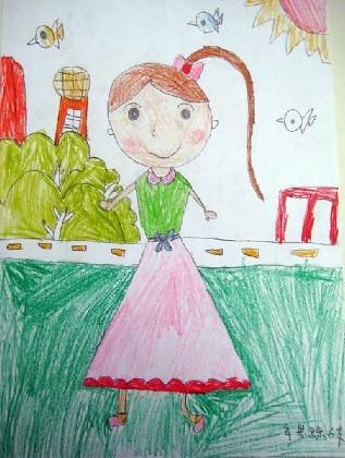 儿童画 317_420 竖版 竖屏
